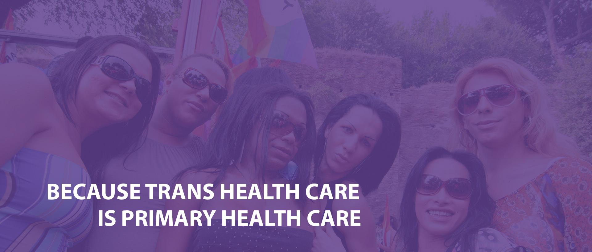 trans health care blog